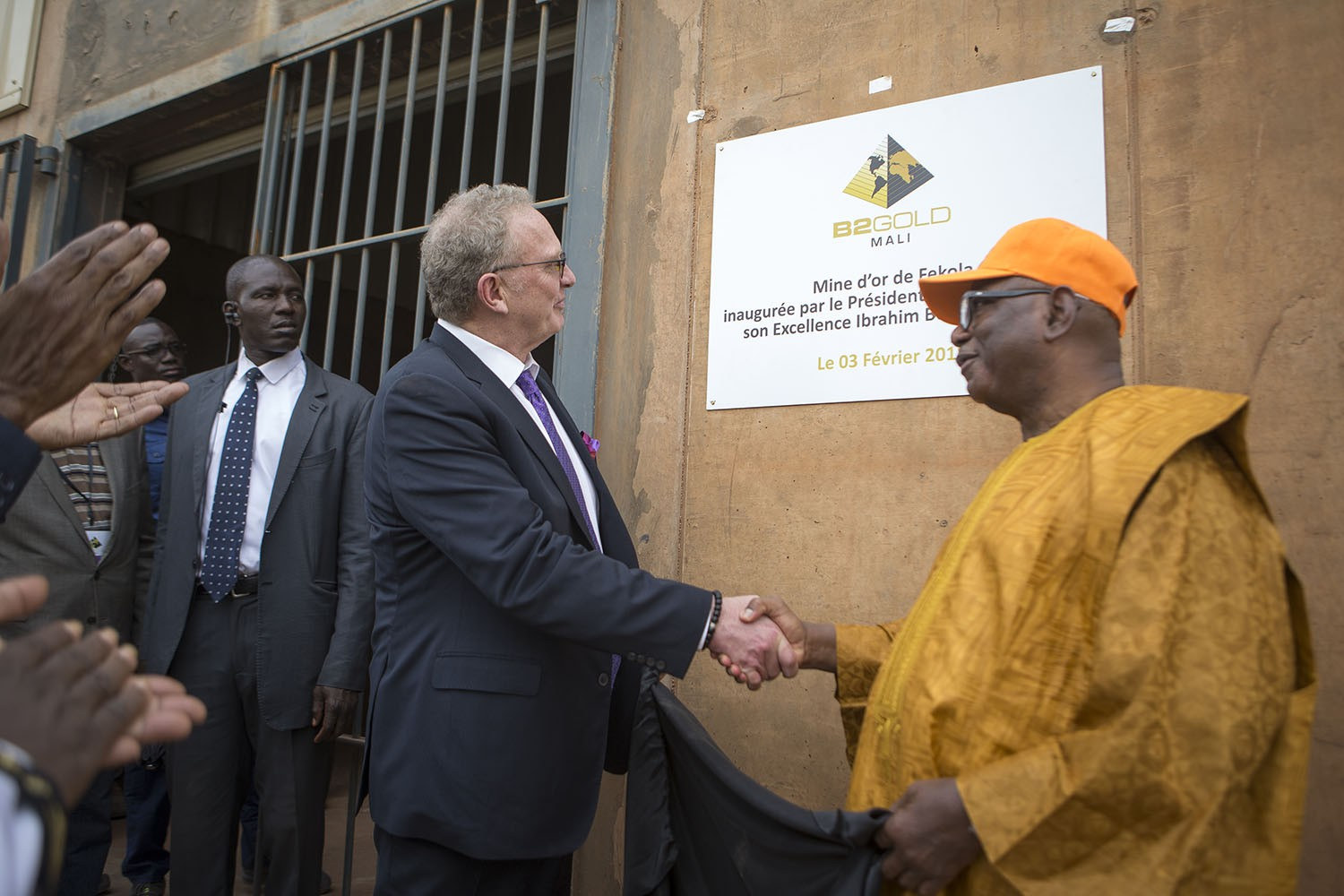 Fekola Mine Grand Opening, Mali