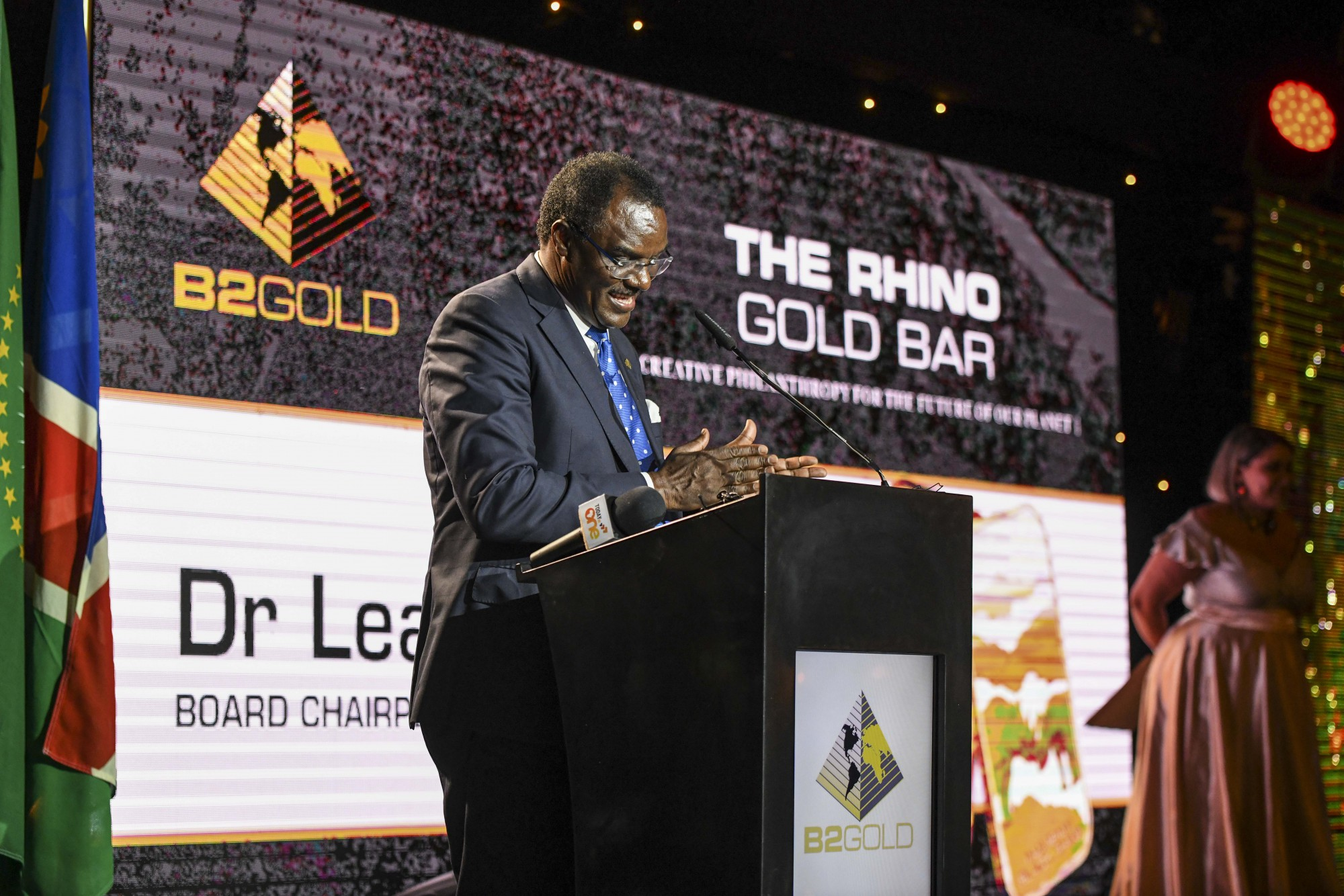 Dr. Leake Hangala ( Director, B2Gold Namibia Proprietary Limited)