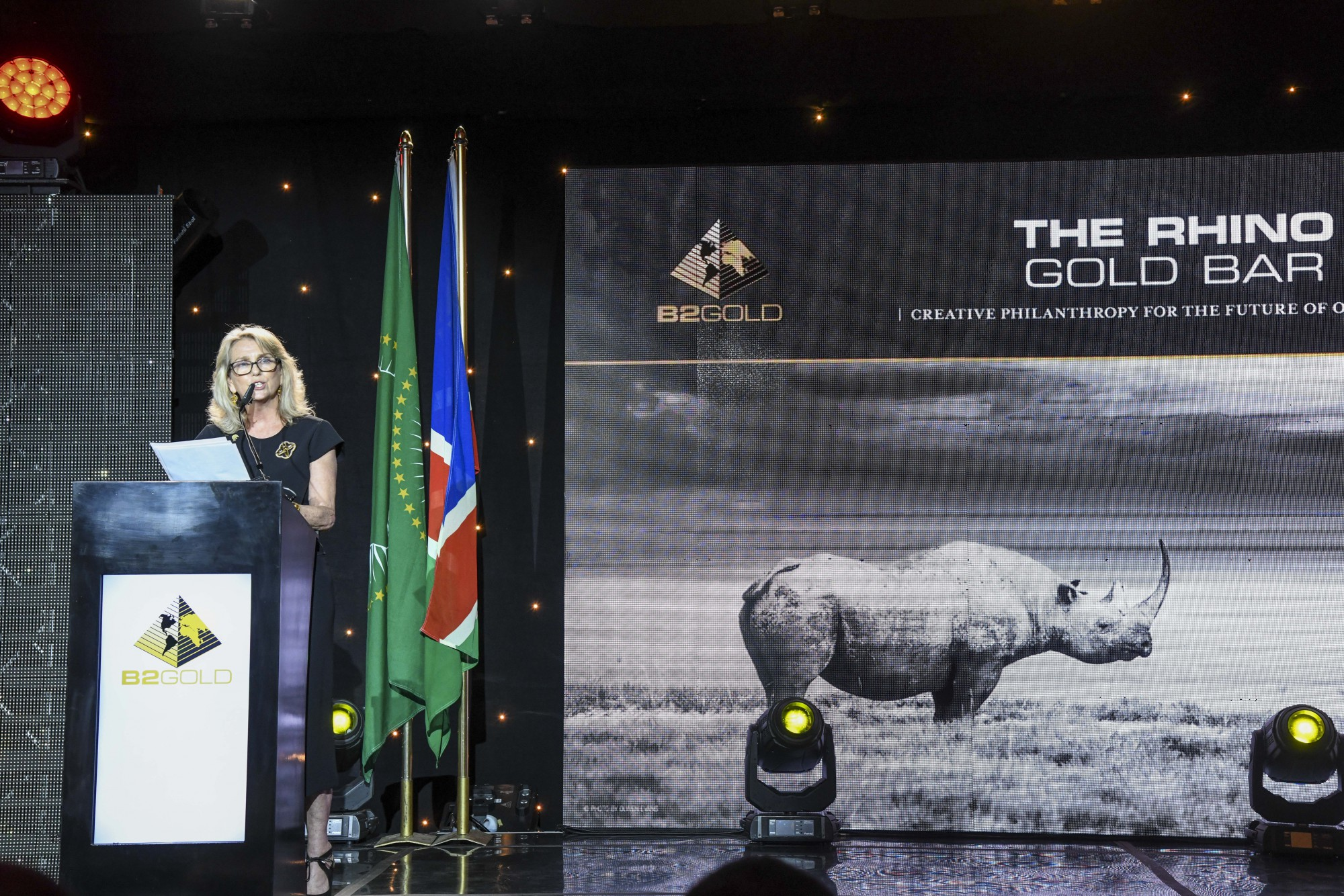 Ginger Mauney (Director, Save the Rhino Trust)