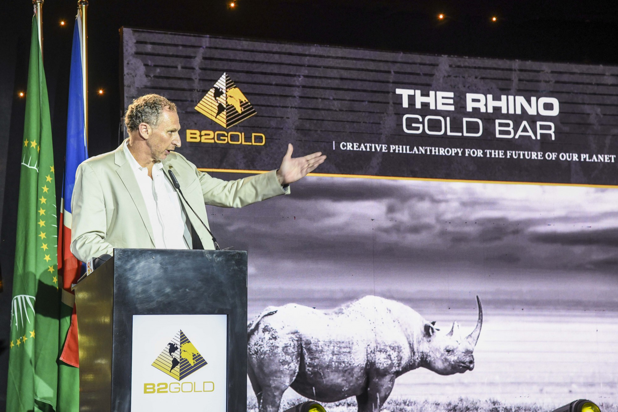 Mark Dawe (Country Manager and Managing Director – Namibia, B2Gold Corp.)