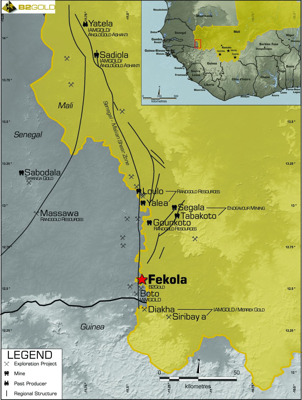 B2Gold - The World\'s New Senior Gold Producer | Fekola Mine – Mali