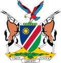 Namibian Coat of Arms Logo